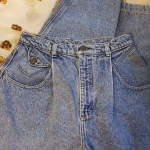 Lee Riders 1980s Vintage High Waisted Mom Jeans